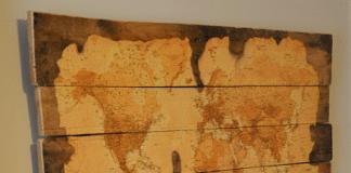 χάρτης από παλετόξυλα