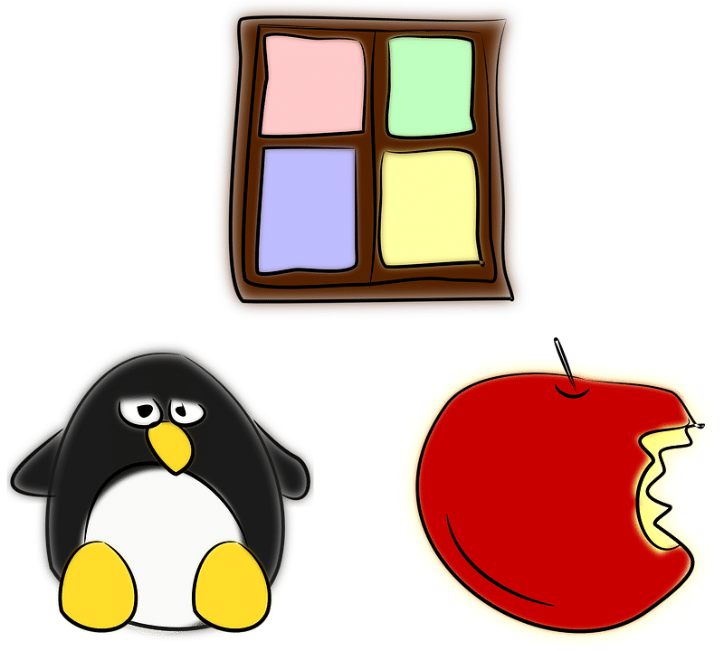 Windows - Apple - Linux