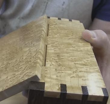 diy κρυφοί ξύλινοι μεντεσέδες