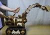 ξύλινη μπουλντόζα automaton