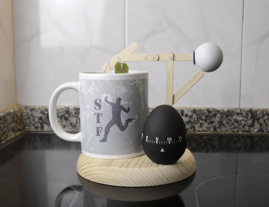 automaton για να ετοιμάζει το τσάι