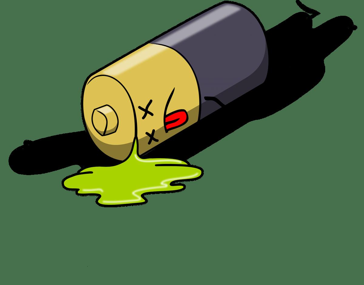 Νεκρή μπαταρία επαναφορτιζόμενου