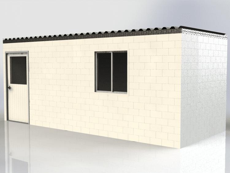 κτήριο φτιαγμένο από μεγάλα LEGO