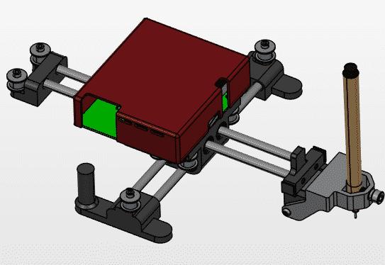 το μίνι plotter σε μορφή CAD